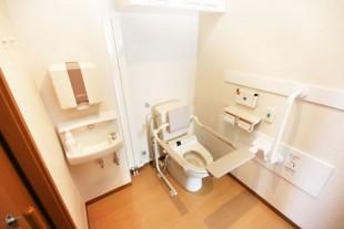 車イス対応型トイレ